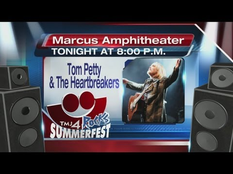 Tom Petty and the Heartbreakers headline day 3 of Summerfest 2013