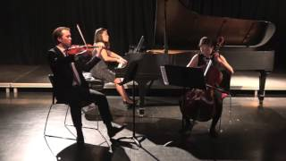 Canadian pianist Jacqueline Ching-Ling Leung, piano, Kumhee Lee, cello, perform Maurice Ravel's Piano Trio in A minor. Tabler Center for the Arts and ...