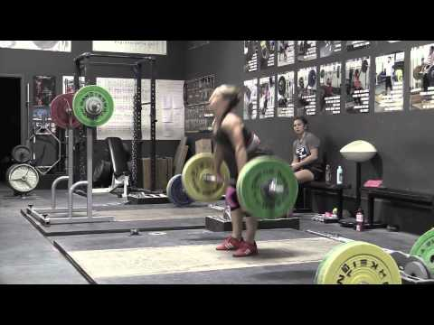 Commentary 39: Power Snatch, Clean, Jerk Dip With Commentary By Greg Everett