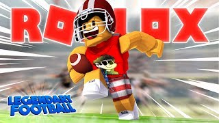 Video NFL FOOTBALL IN ROBLOX - Legendary Football MP3, 3GP, MP4, WEBM, AVI, FLV Oktober 2017
