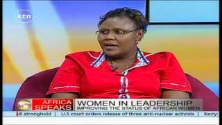 Africa speaks 16th May 2015 :Women in Leadership