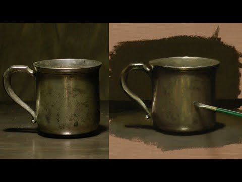 painting - In this video I demonstrate how to paint a still life with oil paint. ANYONE can learn to paint! Before you watch this video, you may want to go to my YouTub...
