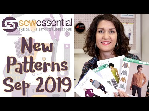 New Sewing Patterns September 2019