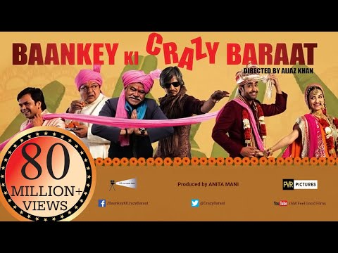 Baankey ki Crazy Baraat | Full, HINDI MOVIE HD | Raajpal Yadav,  Vijay Raaz | New Bollywood Movies