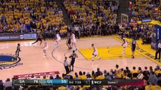Kawhi Leonard Gets Ankle Re-Injured By Zaza Pachulia | May 14, 2017 | Spurs vs Warriors