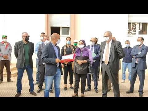 شاهد تفاصيل توزيع جمعية amaipp لمعدات طبية لفائد مستشفى الحسن الثاني بالداخلة