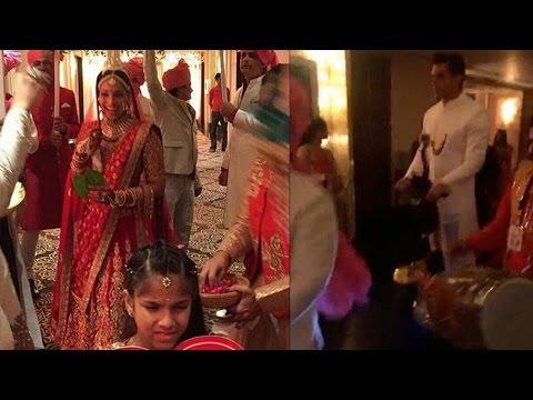 Inside: Groom Karan Singh Grover Arrives In Style