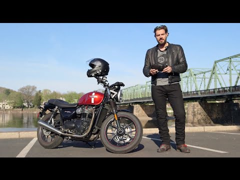 Gear Breakdown - Triumph Street Twin Review at RevZilla.com