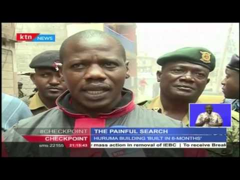 Optimistic Relatives painfully search for bodies after the Huruma tragedy