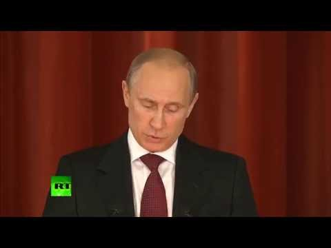 Putin: Who fears objective information? Those who commit crimes!