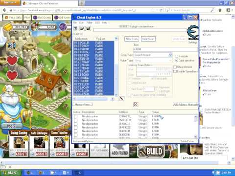 HOW TO USE CHEAT ENGINE 6 2 IN DRAGON CITY