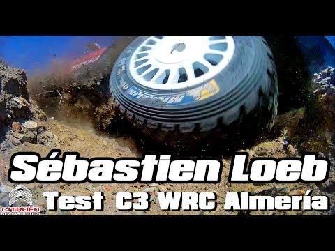 Sebastien Loeb, test con el C3 WRC [Full HD]