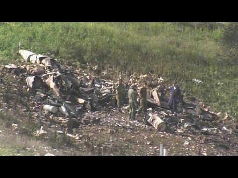 Israel bestätigt Abschuss von F-16-Kampfjet - Piloten überlebten