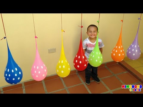 Colores para niños 🎈🎈Learn Colors for kids - Mimonona Stories