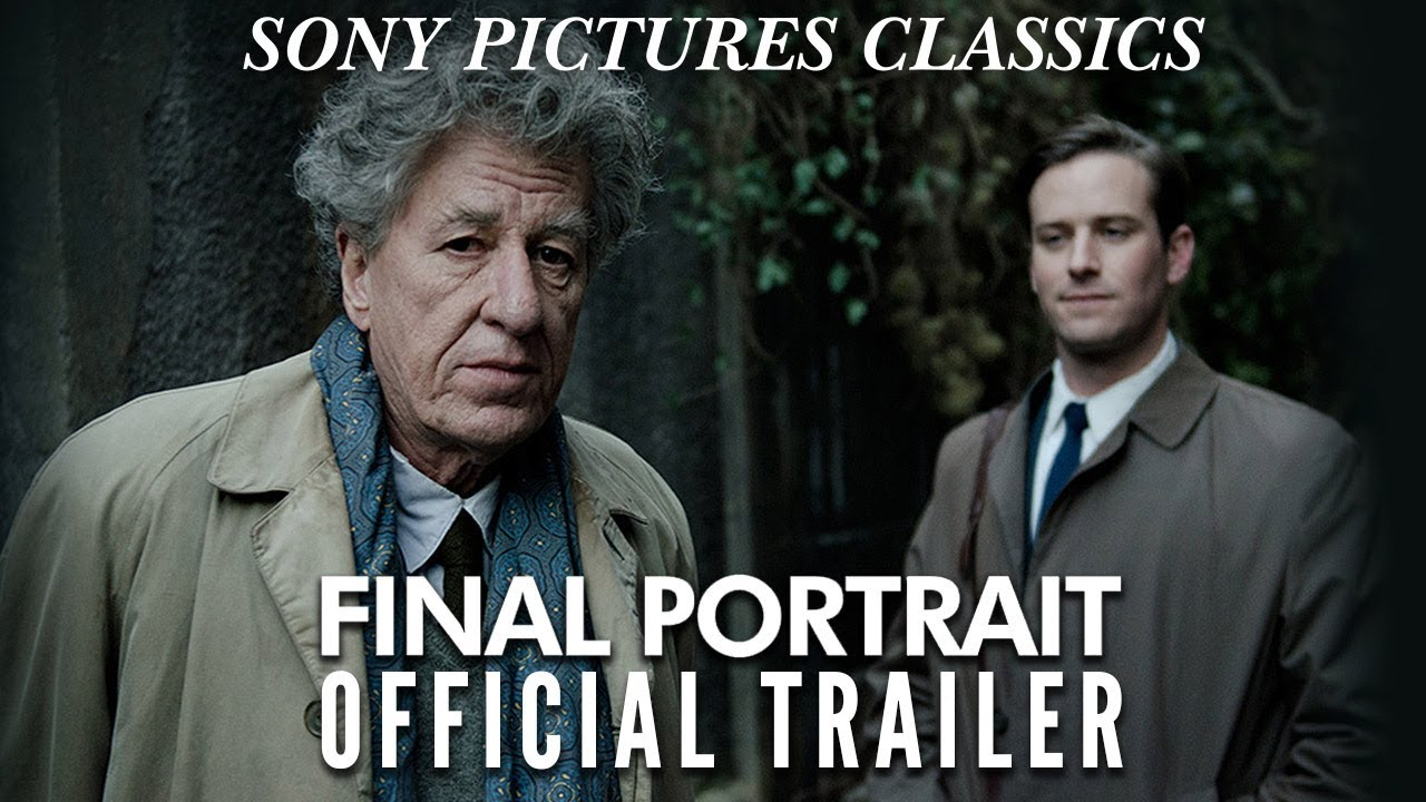 Watch as the Search for Perfection Never Ends for Geoffrey Rush in Stanley Tucci's 'Final Portrait' with Armie Hammer
