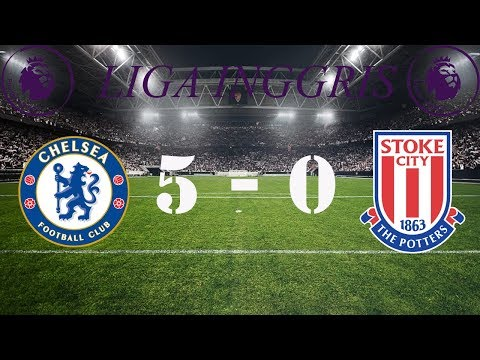 Chelsea vs Stoke City (5-0) - All Goals & Highlights 30/12/2017 | Liga Inggris