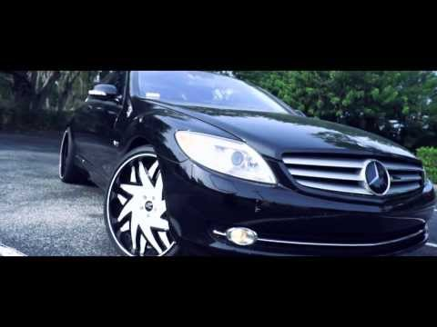 Mercedes CL600 on 22