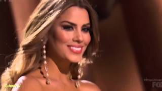 MISS UNIVERSE 2015 - 2016 (Ariadna Gutierrez - Colombia) THE BAND PERRY LIVE FOREVER