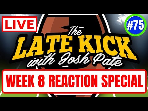Late Kick Live Ep 75: Bama Loses Waddle, LSU & Michigan Roll, More Week 8 Reaction, Early Best Bet
