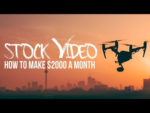 Stock VIDEO Isn't DEAD! Make $2000/month