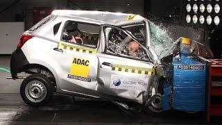 Datsun Go - Indian Crash Test