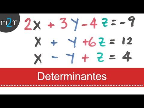 Determinanten (3x3 lineare Systeme)