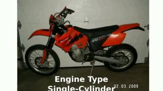 10. 2005 KTM EXC 400 Racing  Transmission Specification Specs Engine Top Speed Features