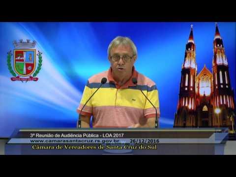 3ª Audiêcia Pública - LOA 2017