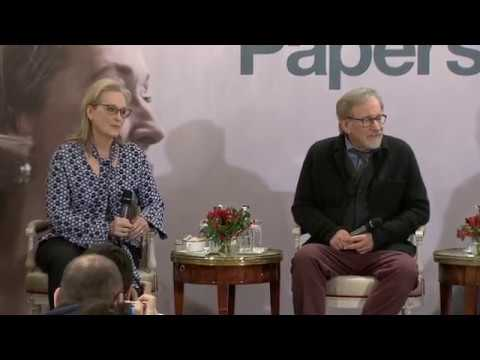 The Post (Pentagon Papers) Paris Press Conference (Part 1 on 2)