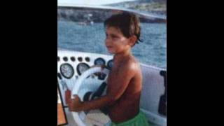 Rafael Nadal, Roger Federer and Novak Djokovic when they were children.