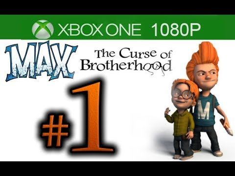 Max The Curse of Brotherhood Walkthrough Part 1 [1080p HD Xbox One] - No Commentary - Chapter 1 FULL