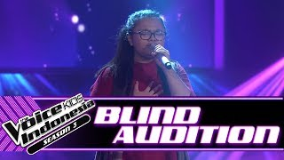 Video Syifa - Runnin' (Lose It All) | Blind Auditions | The Voice Kids Indonesia Season 3 GTV 2018 MP3, 3GP, MP4, WEBM, AVI, FLV Juli 2018
