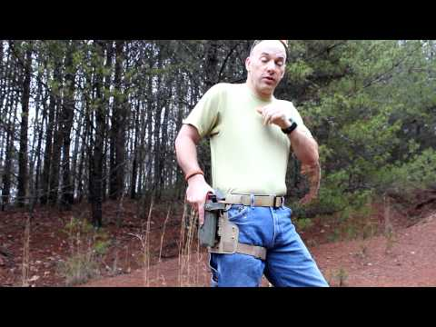 Drawing from the Safariland SLS Holster by Gomez-Training.com