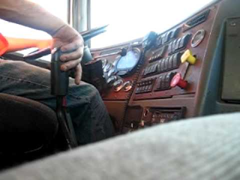 Power shifting an 18 speed Western Star