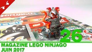Petite vidéo sans prétention où je découvre en même temps que vous le contenu du vingt-sixième numéro du magazine LEGO...