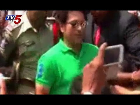 Sudden Surprise | Sachin Tendulkar in Secunderabad TV5 News
