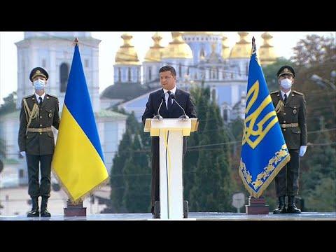Ουκρανία: Επέτειος ανεξαρτησίας με εκεχειρία στην Ανατολή…