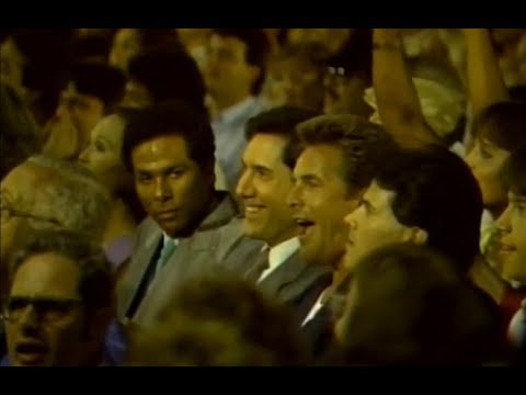 Miami Jai Alai 1986 - Des fans dans la salle