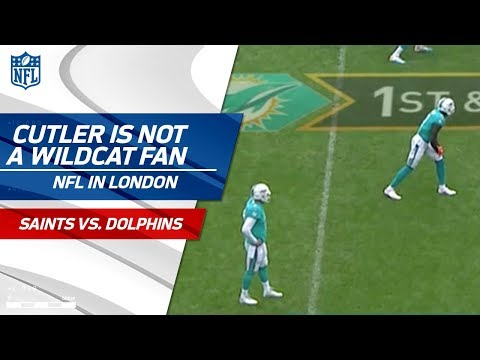 Video: Jay Cutler is NOT About this Wildcat Formation | Saints vs. Dolphins | NFL in London