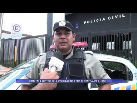 JATAÍ | Homem é detido pela população após tentativa de furto