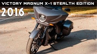 3. 2016 Victory Magnum X-1 Stealth Edition Review Rendered Price Specs Release Date