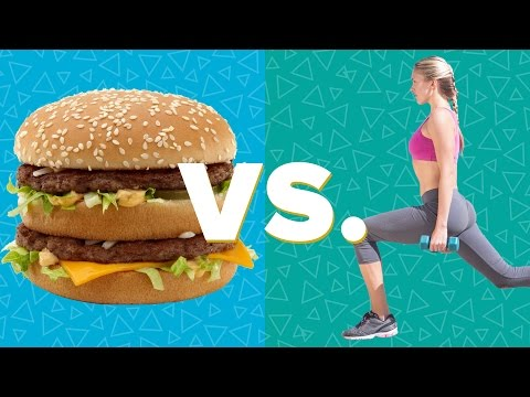 junk food - Your workout vs your junk food! Like BuzzFeedVideo on Facebook: http://on.fb.me/18yCF0b How much will you have to work out to work off your junk food! Find o...