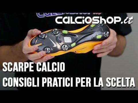Calcioshop: Come Scegliere la Scarpa da Calcio giusta!