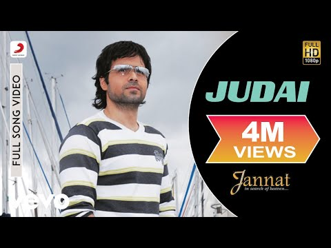 Video Judai - Official Full Song | Jannat | Kamran Ahmed| Pritam | Emraan Hashmi | Sonal Chauhan download in MP3, 3GP, MP4, WEBM, AVI, FLV January 2017