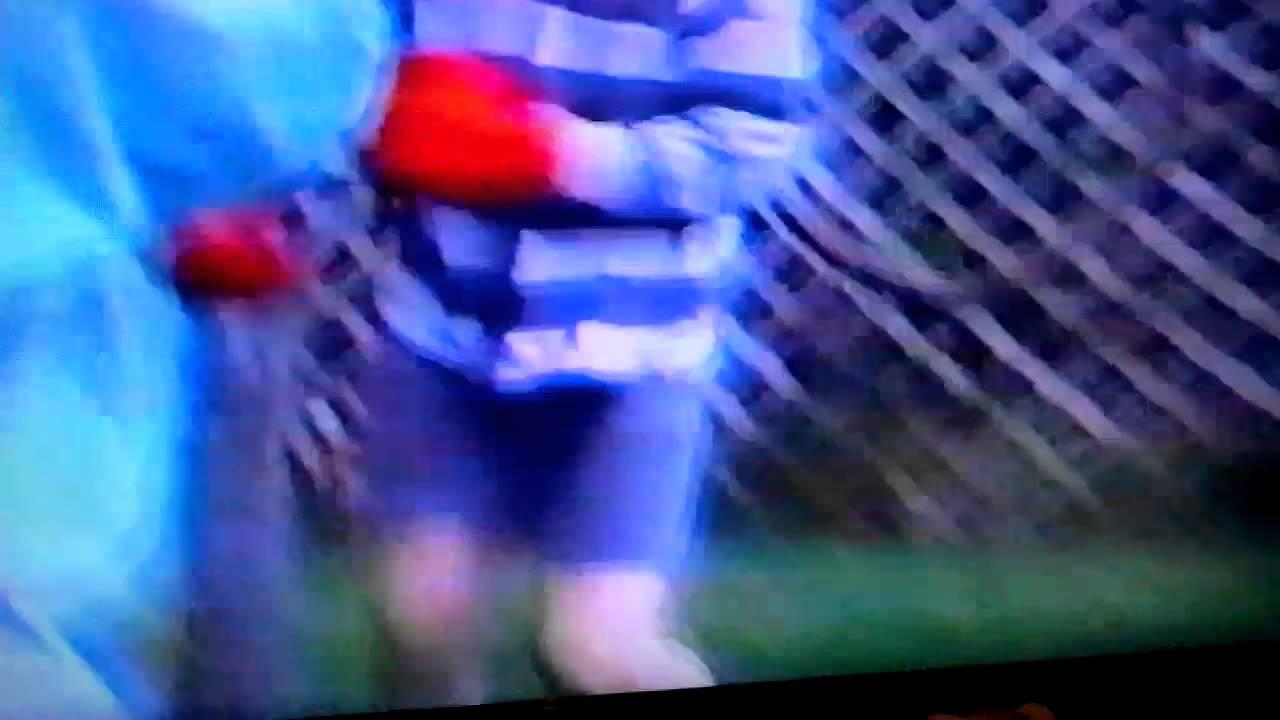 "Knock out"" backyard boxing Jake vs Nate"