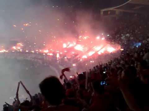 Inter x Estudiantes - Final Sulamericana (Entrada em Campo) - Guarda Popular do Inter - Internacional