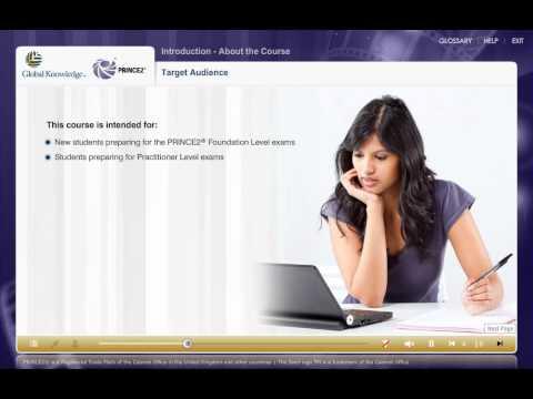 PRINCE2 Foundation e-Learning demonstration