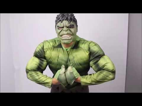 Déguisement Hulk Adulte  - Unboxing et essayage