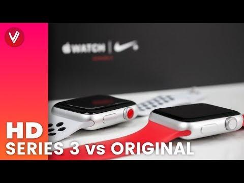 Apple Watch Series 3 vs Original Apple Watch Series 0 | Was ist der Unterschied?