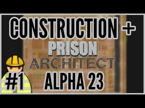 architect - Construction + Prison Architect Alpha 23. PA is a management / building game inspired by dwarf fortress, dungeon keeper, theme hospital etc. All footage is f...